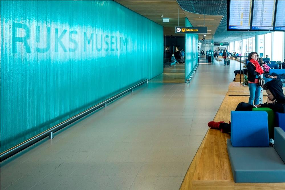 Amsterdam Airport Schiphol Holland Boulevard