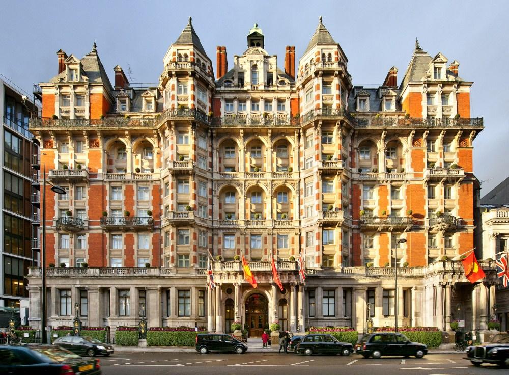 Mandrin Oriental Hyde Park London