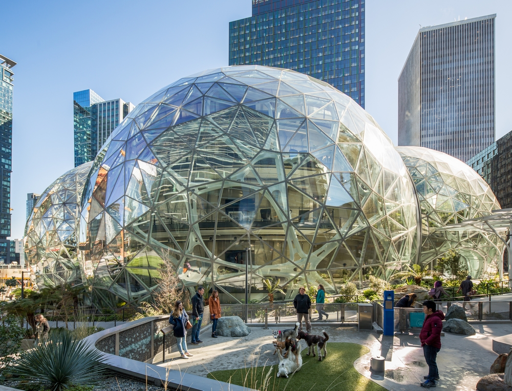 Amazon Seattle The Spheres