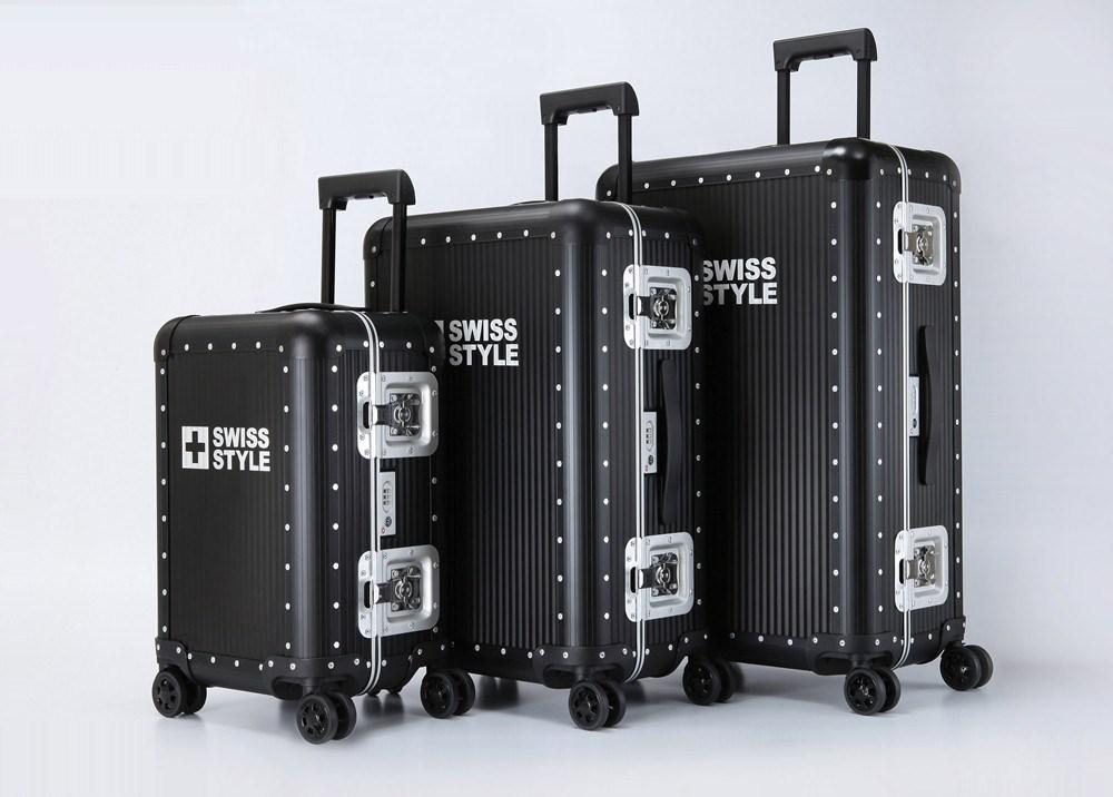 Swiss Style 鋁鎂合金行李箱