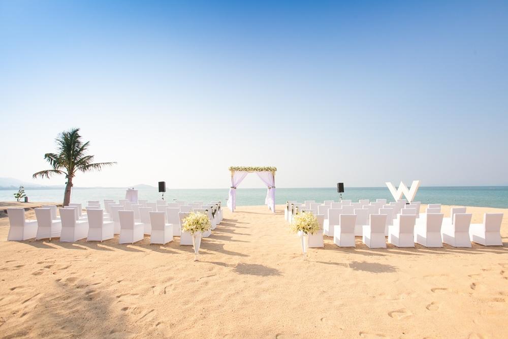泰國、蘇美島、婚禮、度假、年代旅遊、W Hotel
