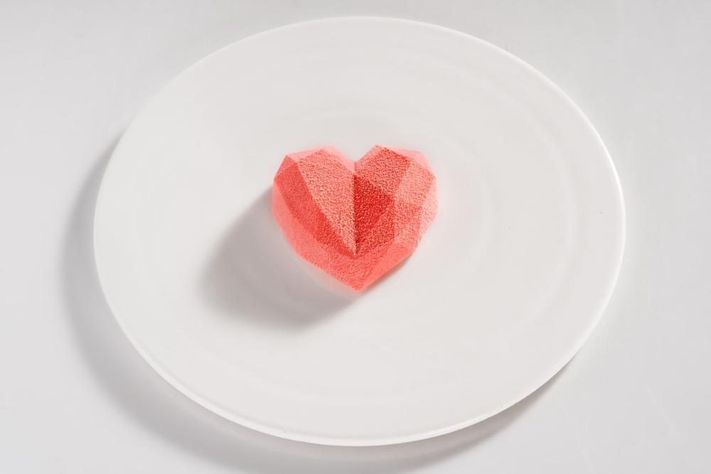 「小胭脂」幾何蛋糕/金錦町/視覺系日式甜點/台北