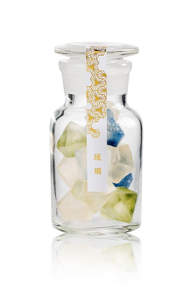 琥珀糖「琉璃」/金錦町/視覺系日式甜點/台北