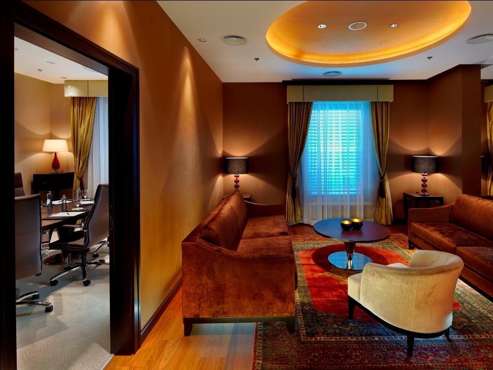 多瑙河畔/Kempinski Hotel River Park/優雅色調的空間設計