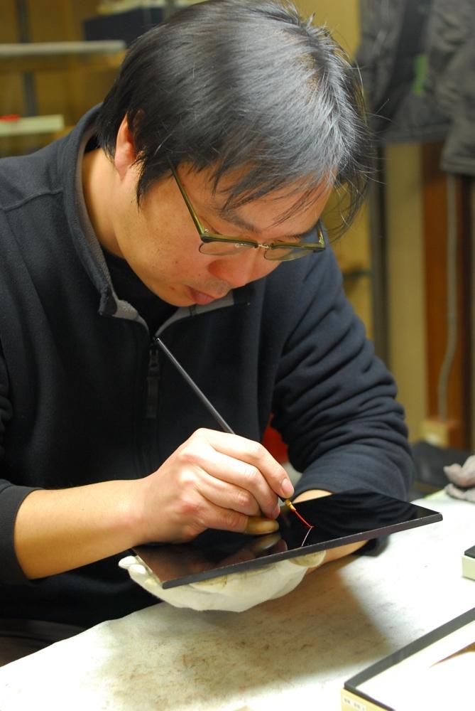 迦陵頻/漆藝/舟越一生/京都/日本