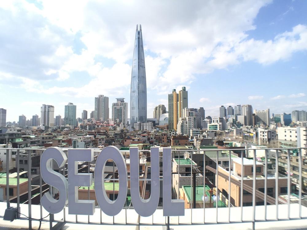 首爾樂天世界塔/Lotte World Tower/首爾/韓國