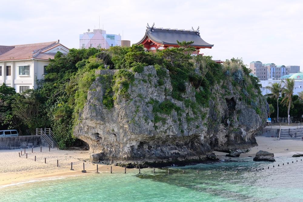 波の上ビーチ/沖繩/日本