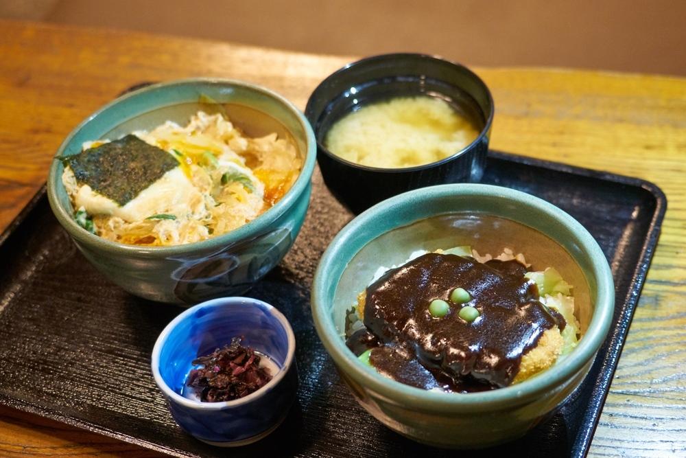牛肉醬汁豬排蓋飯/岡山B級美食/炸豬排/炸豬排丼/味司野村/岡山/日本