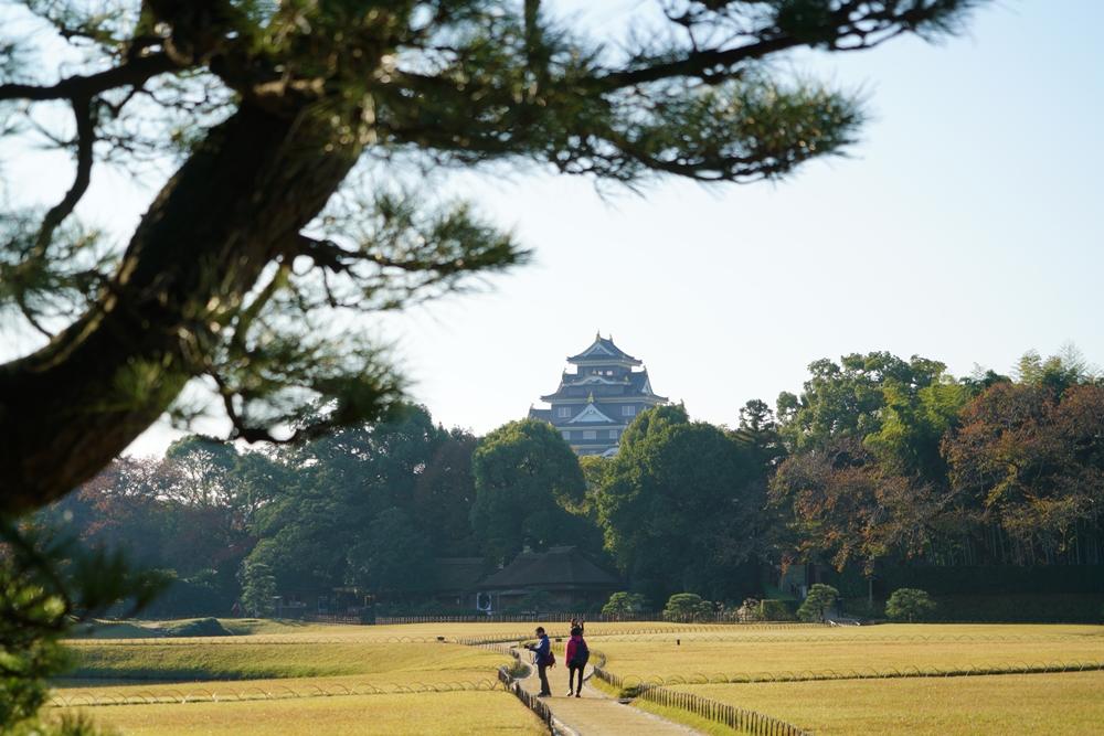 岡山後樂園/後樂園/日本庭園/日本三大名園/岡山/日本