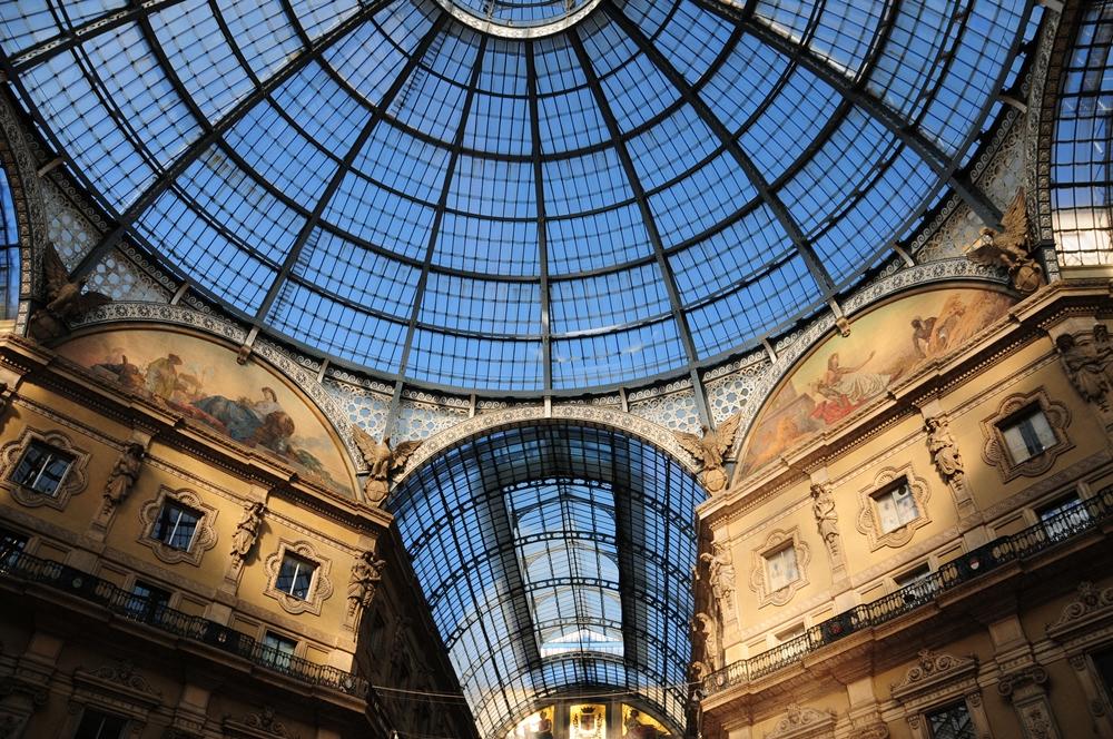 艾曼紐二世拱廊/米蘭/義大利