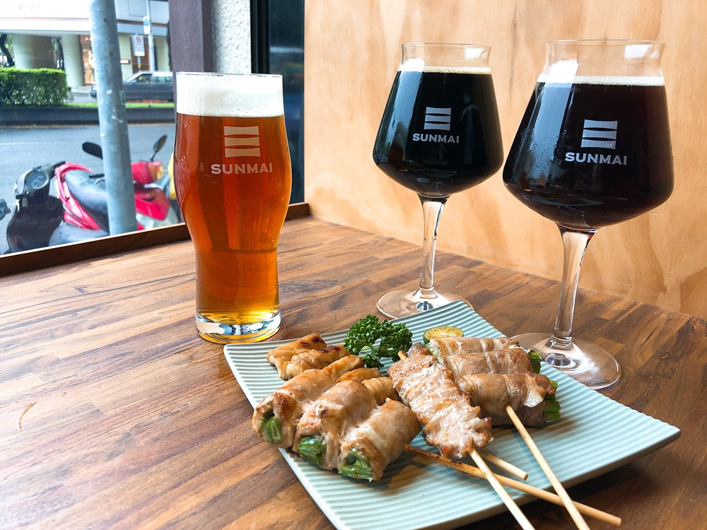松阪豬肉串/豬肉串/濃啤酒/SUNMAI BAR/胡同燒肉/精釀啤酒吧/酒吧/台北