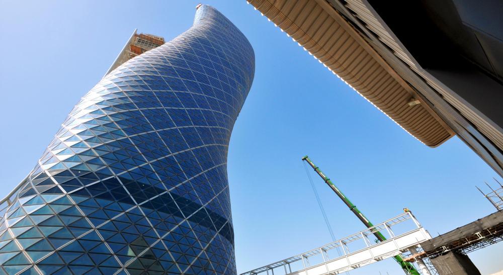 建築物外觀/Hyatt Capital Gate Abu Dhabi/阿布達比/阿拉伯聯合大公國