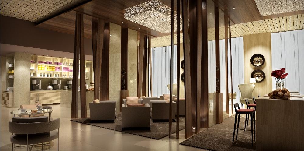 交誼廳/Hyatt Capital Gate Abu Dhabi/阿布達比/阿拉伯聯合大公國