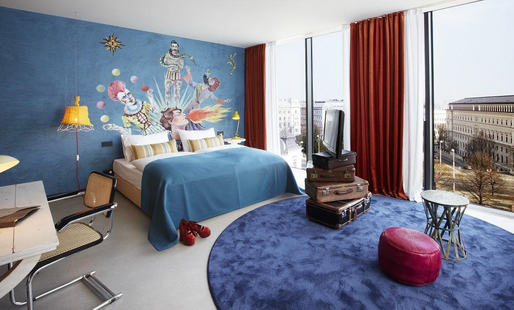 客房/25hours Hotel Wien/維也納/奧地利