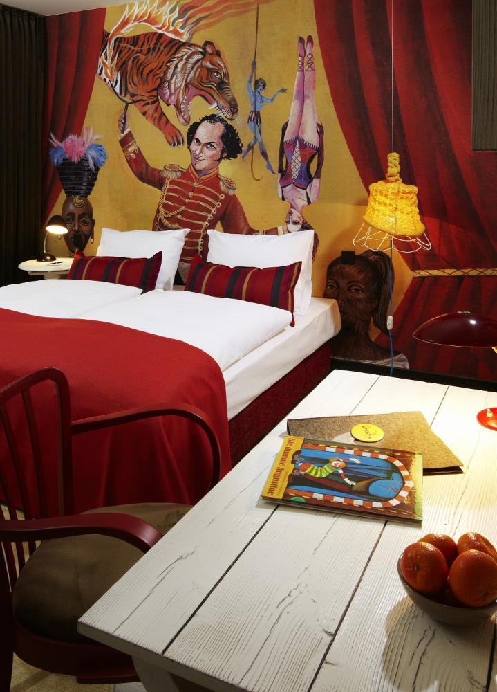 客房/馬戲團風格/25hours Hotel Wien/維也納/奧地利