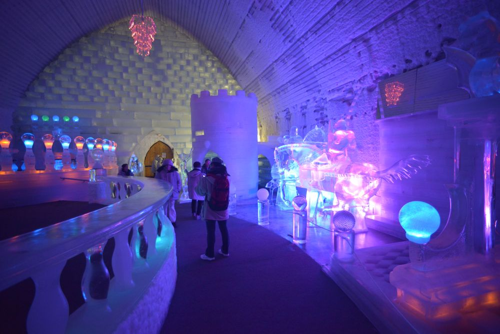 費爾班克斯_Chena Hot Springs Resort_極光冰雕博物館