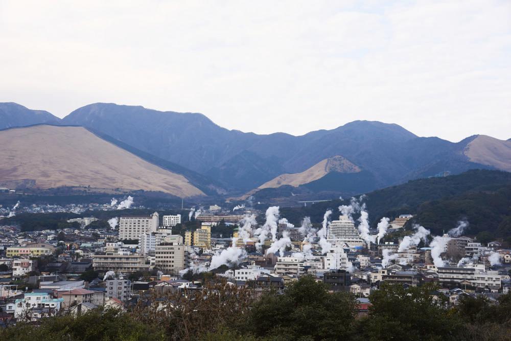 別府溫泉/湯煙/日本溫泉/星悅航空/北九州/日本