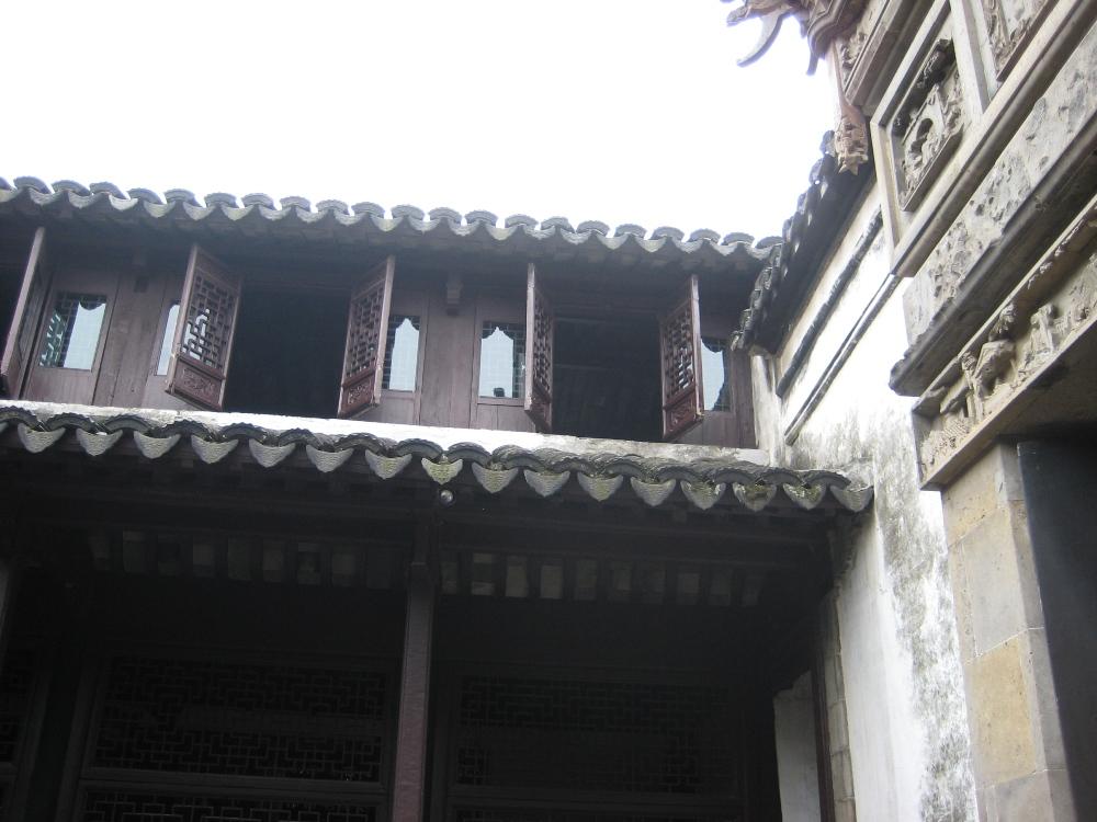 窗櫺/木造建築/周莊/中國