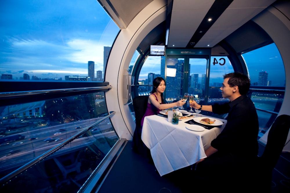 空中景觀餐廳/Singapore Flyer/新加坡