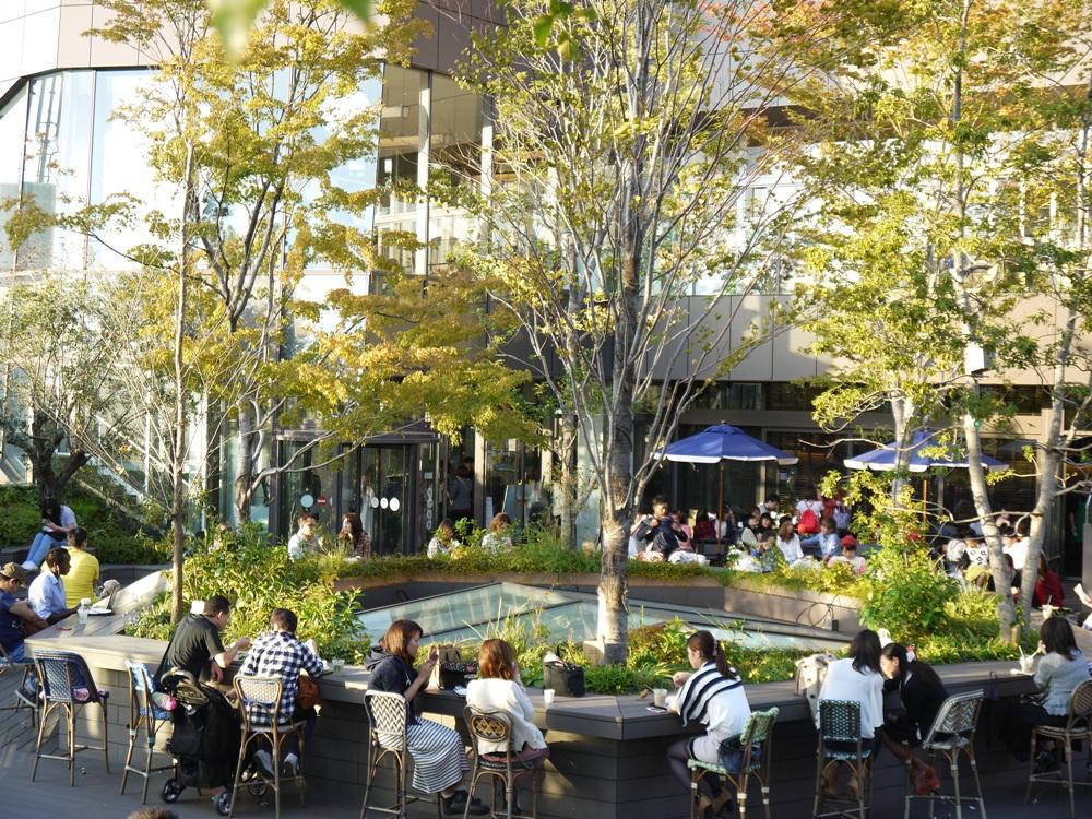 Omohara Forest/日和時光/露天空間/咖啡店/表參道/原宿/東京/日本
