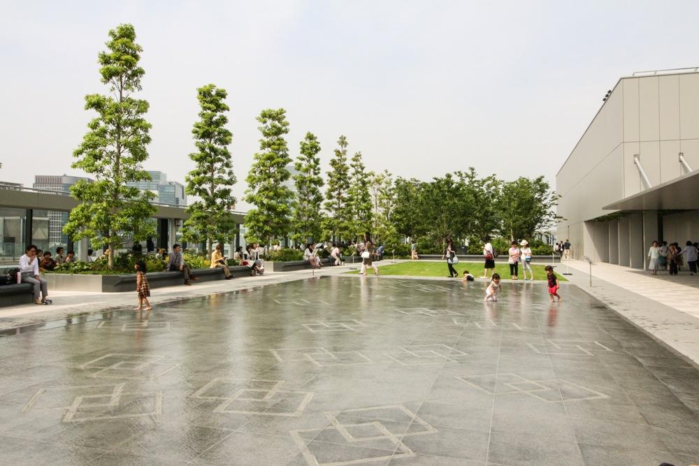 GINZA SIX GARDEN/頂樓花園/露天空間/銀座/東京/日本