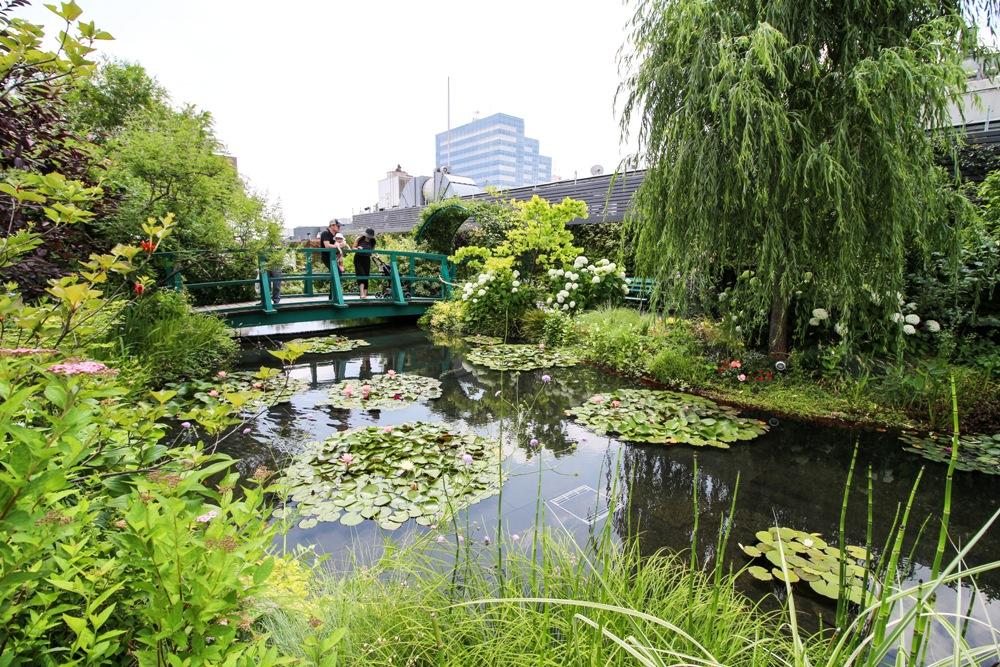 The Garden/西武百貨/空中庭園/莫內庭園/東京/日本