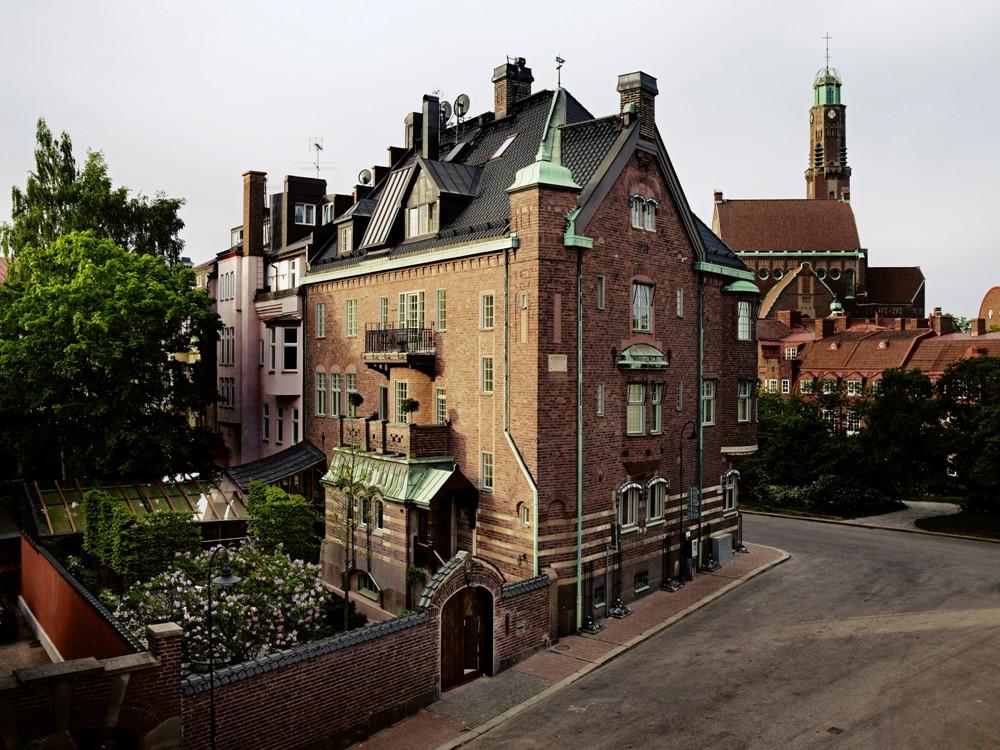 建築外觀/寧靜住宅區/Ett Hem/斯德哥爾摩/瑞典