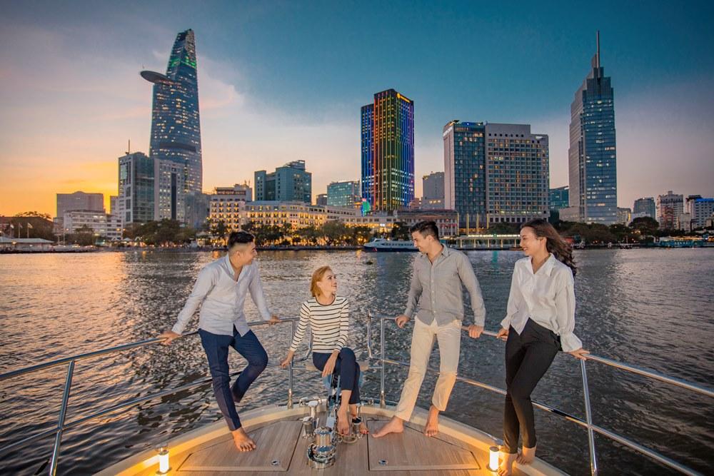 西貢萬韻酒店/遊艇/西貢河/西貢/胡志明市/越南